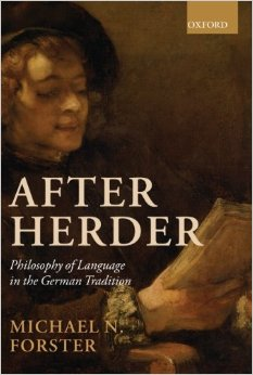 "Recensione: M. Forster, ""After Herder. Philosophy of Language in German Tradition"" (A. Bragantini)"