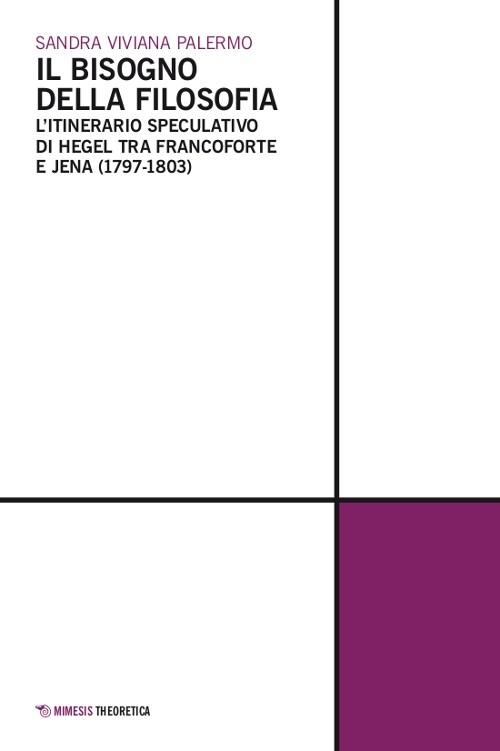"""Materials: Sandra Palermo, """"Il bisogno della filosofia"""" (Mimesis, Milano 2011). Introduction"""
