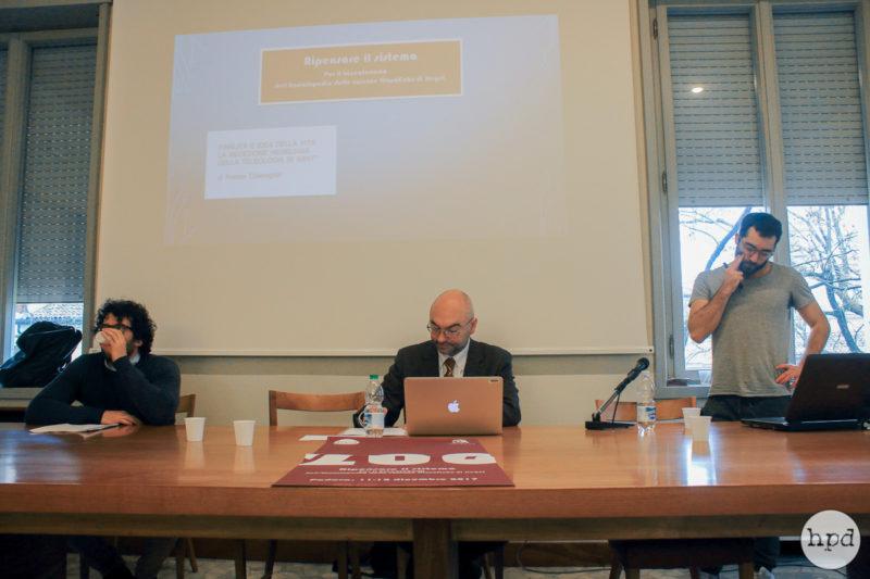 Paolo Diego Bubbio, Luca Corti and Andrea Gambarotto - Ph. by Giovanna Luciano