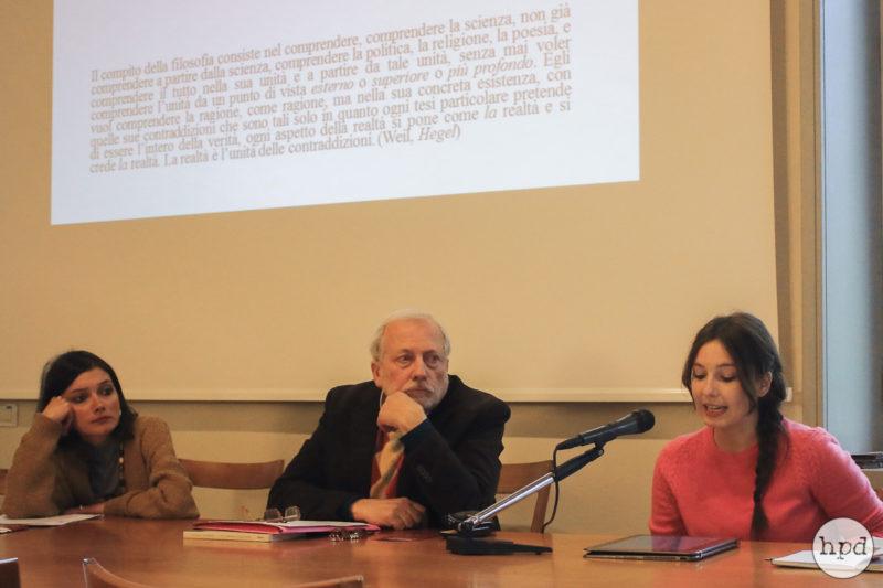 Maurizio Pagano, Eleonora Caramelli and Giovanna Luciano - Ph. by Guglielmo Califano