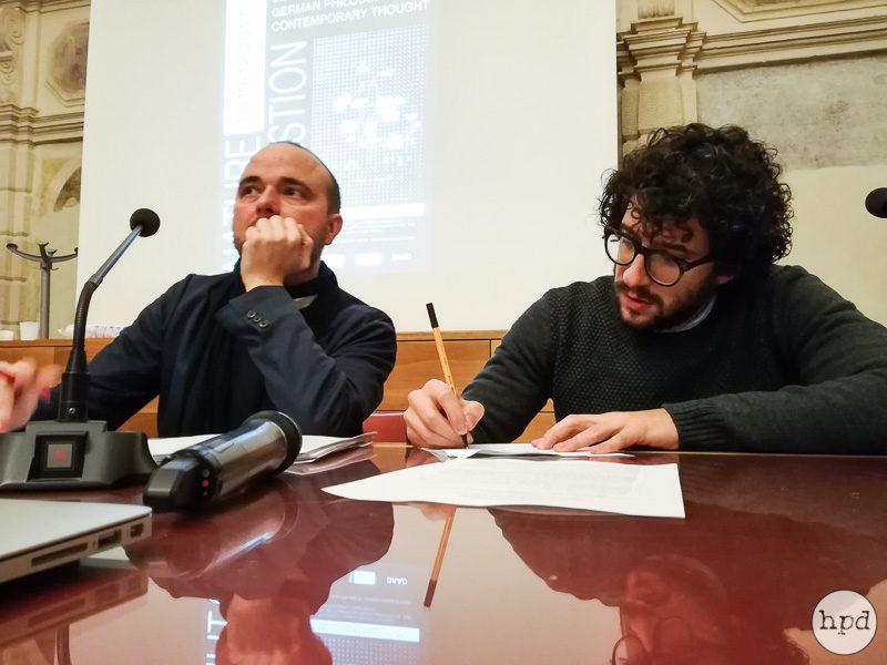 Johannes-Georg Schülein, Luca Corti (the organizers) - Ph. by Giovanna Miolli