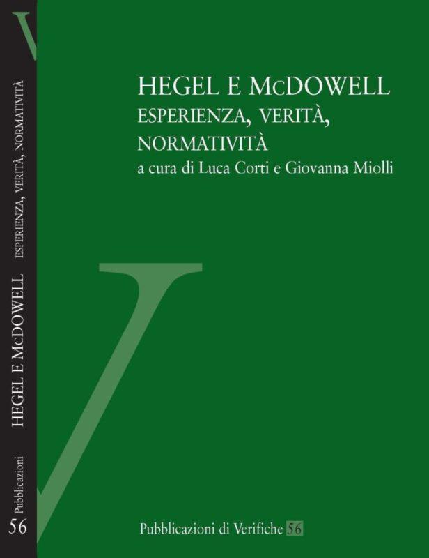 """Materials: """"Hegel e McDowell"""" (a cura di L. Corti e G. Miolli, Verifiche)"""