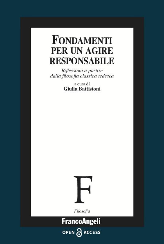 """NEW RELEASE: Giulia Battistoni (eds.), """"Fondamenti per un agire responsabile"""" (Franco Angeli, 2020)"""