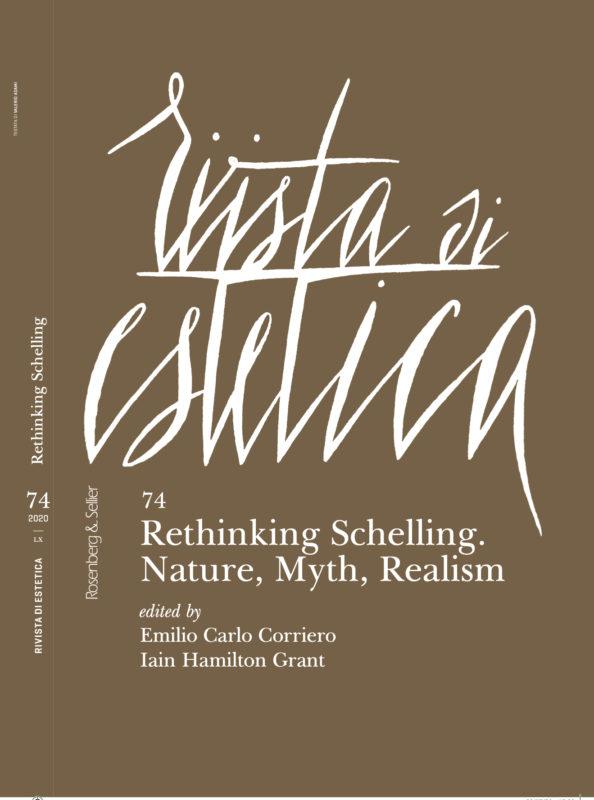 "New Release: Rivista di Estetica ""Rethinking Schelling. Nature, Myth, Realism"" (n.s. N. 74, LX, 2020)"