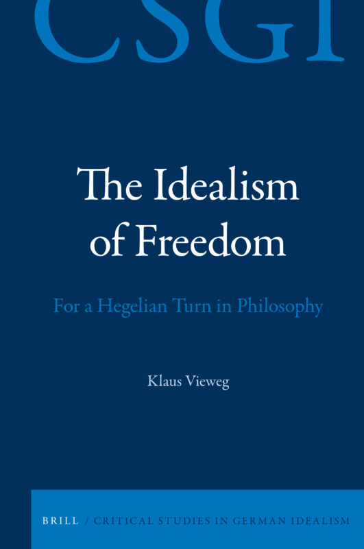 "NEW RELEASE: Klaus Vieweg: ""The Ideali"