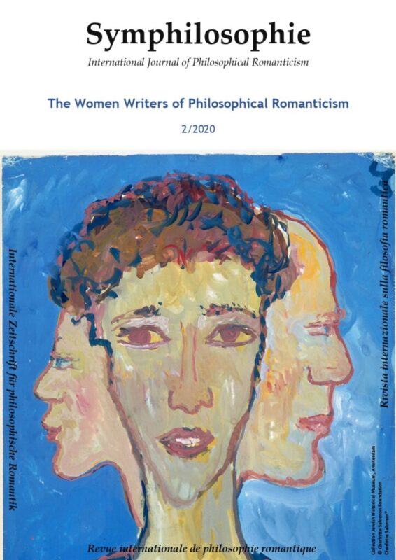 "New Release: ""Symphilosophie. International Journal of Philosophical Romanticism"" (2/2020)"
