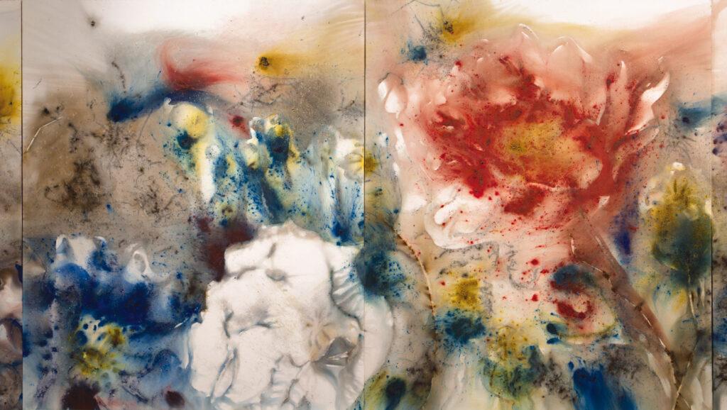 Cai Guo-Qiang, Poppy Series: Hallucination No. 1