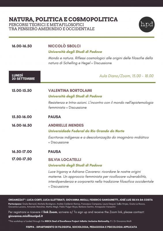 Workshop: Natura, politica e cosmopolitica (Padova-Natal, 15-17-20 settembre 2021) 2